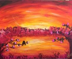 24X30 Akryl Canvas. Pris: 920kr