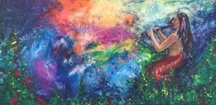 60X30 Akryl Canvas. Pris 3950kr.