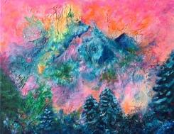 """Apos"" 30x24 Akryl Canvas. Pris: 2750kr."