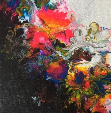 20x20 Akryl Canvas. Pris 950kr.