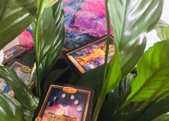 Tarotkort, healing och målning