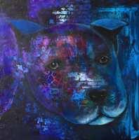 (Reapris 1375kr)50x50x3 Akryl Canvas. Pris: 2750kr.