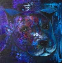 50x50x3 Akryl Canvas. Pris: 2750kr.
